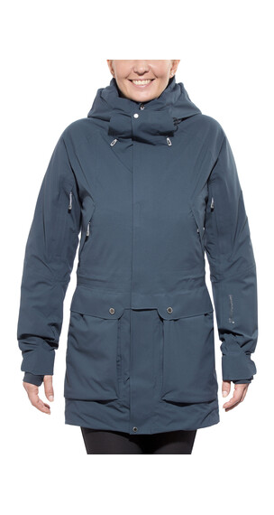 Houdini Spheric Parka Jacket Women rider blue